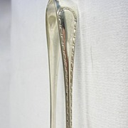 Art Nouveau Silver Plated Claw Sugar Tongs