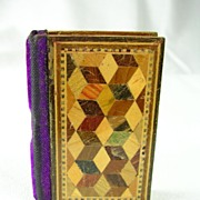 Tunbridge Ware Needle Case Sewing Kit � c. 1880