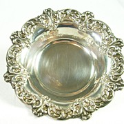 SALE Signed Wallace Silver Plated Bon Bon Candy Dish � Beautiful!