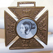 C.1887 English Medal Celebrating QUEEN VICTORIA's Jubilee!