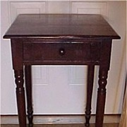 SALE Sheraton Mahogany One Drawer Stand