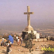 Color Photo View Postcard-APPARITION HILL Medjujorge-1981 EX