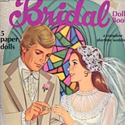 Romantic Vintage 'Bridal Doll' Paper Doll Book~Whitman, 1978-UNCUT, Mint