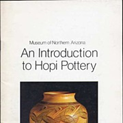 'An Introduction to HOPI Pottery'~Francis E. Harlow~1978 FE Museum of Northern Arizona