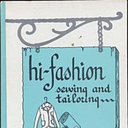 'Hi-Fashion Sewing and Tailoring' Sewing Book ~Helen S. Jones~FE, HC 1970