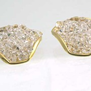 Pretty Lucite Crystal Fantasy Shoe Clips~Be An Enchanted Princess!