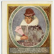 1902 Private Mailing Post Card 'Pocahontas' Portrait 1616~NMint!