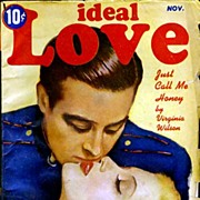 HTF IDEAL LOVE Pulp Romance Stories Magazine~'Just Call Me Honey' November, 1944
