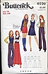 Butterick #6770 Fab MOD Wardrobe Pattern~Vest, Skirt, Pants & Shorts! Size 16/Bust 38&quot;~UNCUT FF, 1969