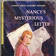 Nancy Drew Mysteries Book #8-'Nancy's Mysterious Letter'-1968, Carolyn Keene