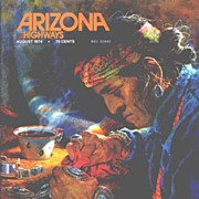 HTF 'New Trails, New Horizons' Navajo Silversmithing & Turquoise! ARIZONA HIGHWAYS August 1974
