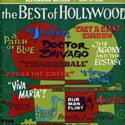 1966 'Best of HOLLYWOOD' Music Folio Book~Movie Themes! Robbins Music Corp. SC, 41 Pages