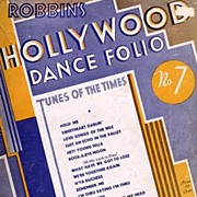 HTF 1933 Robbin's Hollywood Dance Folio No. 7~'Tunes Of The Times', Star Photographs ...