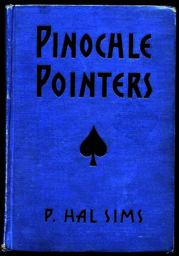 1935 'Pinochle Pointers' Book~P. Hal Sims, United States Playing Card Co.~FE HC