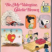 HTF 'Be My Valentine, Charlie Brown' Book~A Charlie Brown Special, 1976 Scholastic Book ...