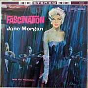 1957 'FASCINATION' LP Record-Jane Morgan & The Troubadors-Kapp Records VG