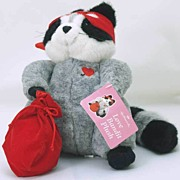 2003 NWT Hallmark 'Love Bandit' Stuffed Plush RACCOON