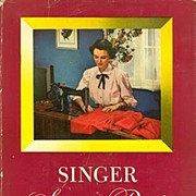 Comprehensive 1949 First Edition 'SINGER SEWING GUIDE'~Mary Brooks Picken, HC/DJ