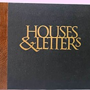 Beautiful 'Houses & Letters: A Heritage In Architecture & Calligraphy'~Signed By Author Lanore