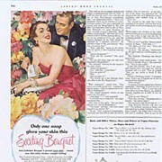 Pretty CASHMERE BOUQUET SOAP Ad~Will She or Won't She? LHJournal, October 1956 1/3 ...