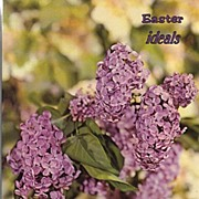 1973 Easter IDEALS Magazine~Poems, Stories, Paintings To Welcome Spring! EXC+