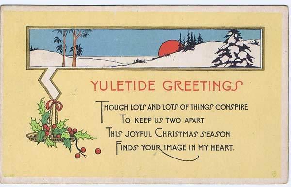 Yuletide Greetings By Cynnalia On Deviantart