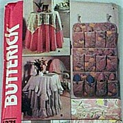 Butterick Crafts #4371 Tablecloths & Toppers W/ Accessories-NETTLE CREEK Gallery Classics-UNCU