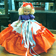 NASB Doll July with Jointed Leg and Socket Head