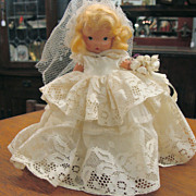 NASB Doll Bride with Jointed Legs