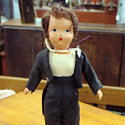 NASB Doll Groom with Socket Neck and Jointed Legs