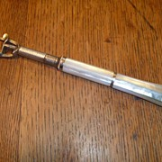 Antique Mother of Pearl  Opera Glass Handle