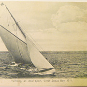 SALE Yachting, an Ideal Sport Great Soldus Bay N.Y.