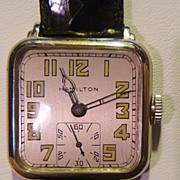 "SOLD Vintage Hamilton ""Hastings"" Wristwatch"