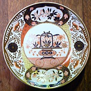 SOLD Antique Georgian Spode Imari Dish