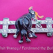 SOLD Walt DISNEY Ferdinand the Bull Pin from approximately 1938!