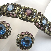 SOLD Stunning HOBE Filigree Bracelet & Earrings!