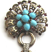 SOLD 1940s TRIFARI Sterling Pin!