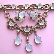 SOLD TRIFARI 1949 Claire De Lune Necklace, Bracelet & Earrings!