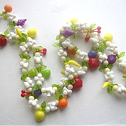 Plastics Fruit Necklace