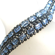 KRAMER Blue Rhinestones Bracelet