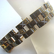 Toledo Spain Damascene Bracelet