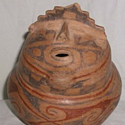 Ancient Casas Grandes Human Effigy Pottery Jar
