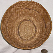 Native American Washo Washoe Indian Coiled Basket