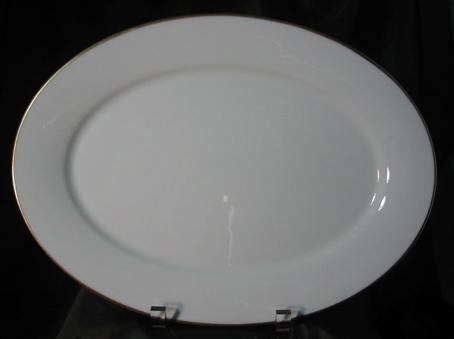 Oxford China (Lenox) Special Gold Wedding Band Small Serving Platter