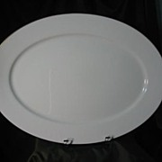 Oxford China (Lenox) Special Gold Wedding Band Large Serving Platter
