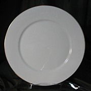 Oxford China (Lenox) Special Gold Wedding Band Dinner Plates