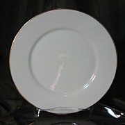 Oxford China (Lenox) Special Gold Wedding Band Salad Plates