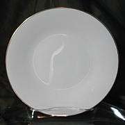 Oxford China (Lenox) Special Gold Wedding Band Coupe Under Plates