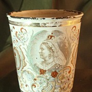 Queen Victoria Diamond Jubilee Enameled Beaker