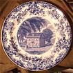 Wedgwood Transferware Souvenir Plate - The Letitia Street House